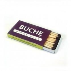 """Matchbox """"Bûche d'Ambiance"""""""